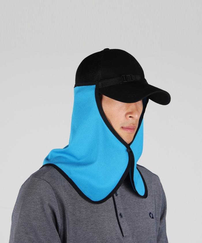 오투아이스 쿨링 햇빛가리개모자 자외선차단 등산 썬가드(캡형/안전모형)
