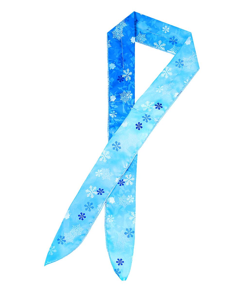 오투아이스 쿨스카프 - 눈꽃