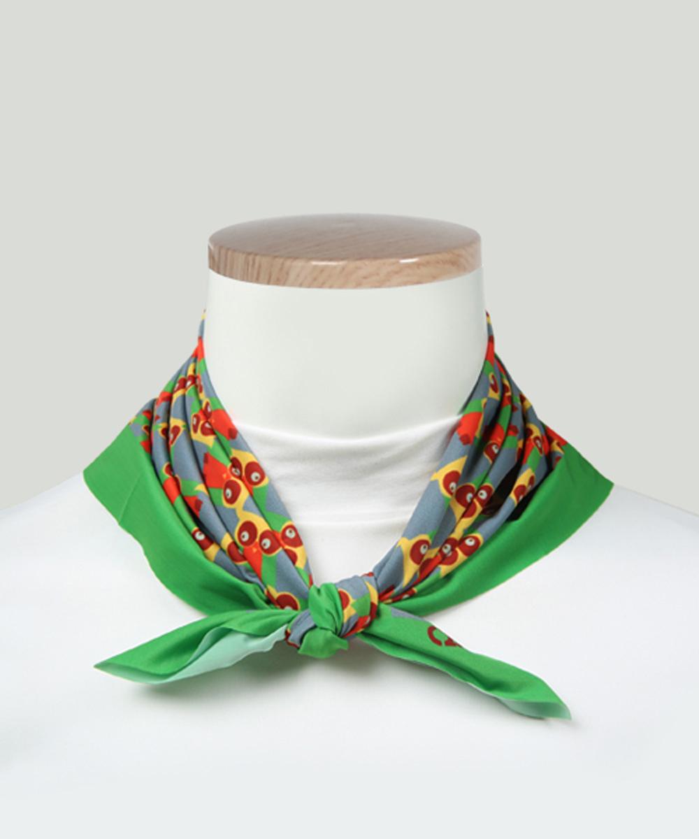 오투아이스 미라쿨 사각 쿨스카프 - 부엉이
