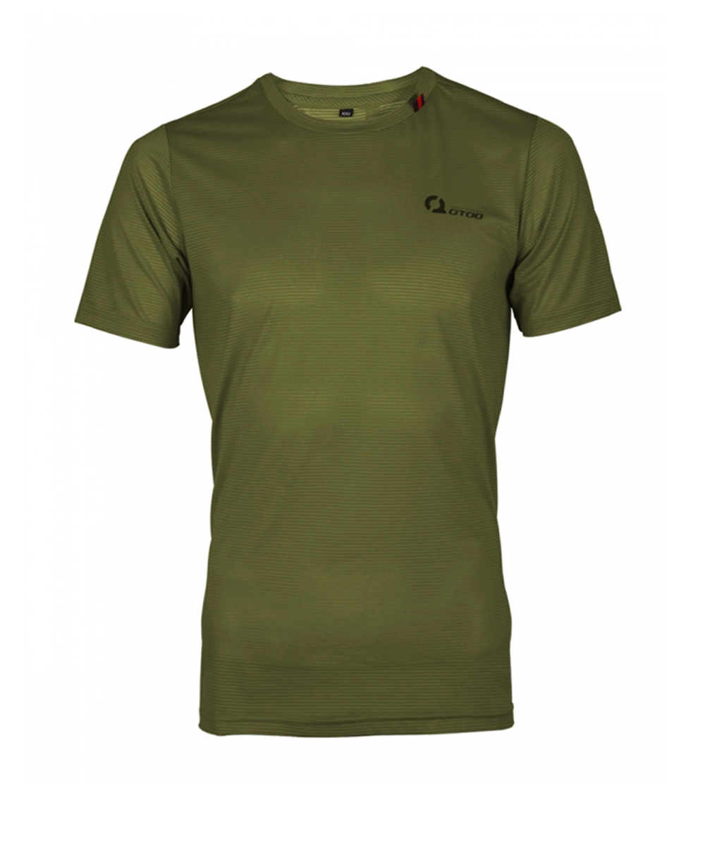 오투아이스 쿨론 스포츠 티셔츠 - 그린