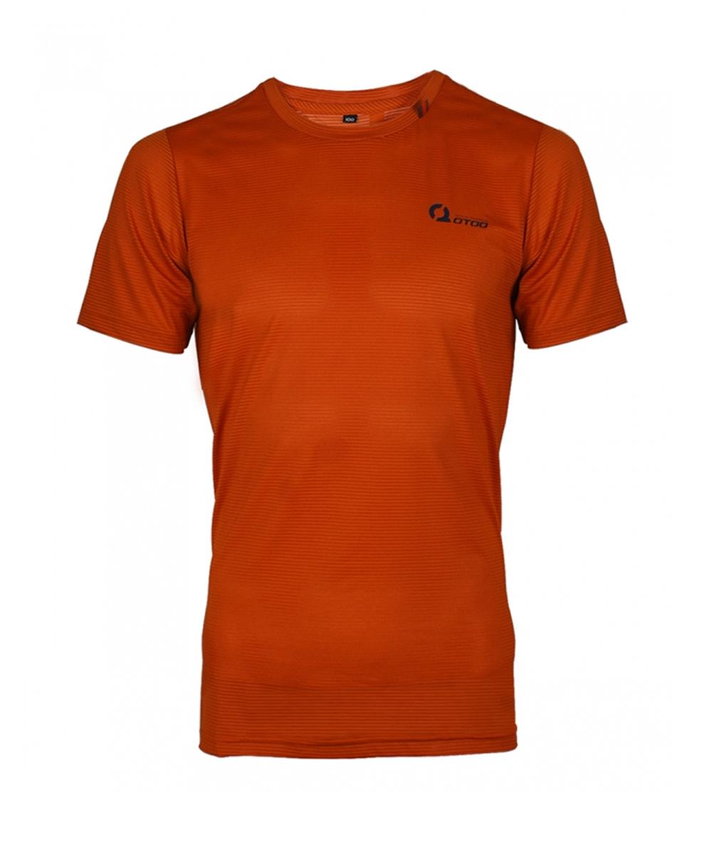 오투아이스 쿨론 스포츠 티셔츠 - 오렌지