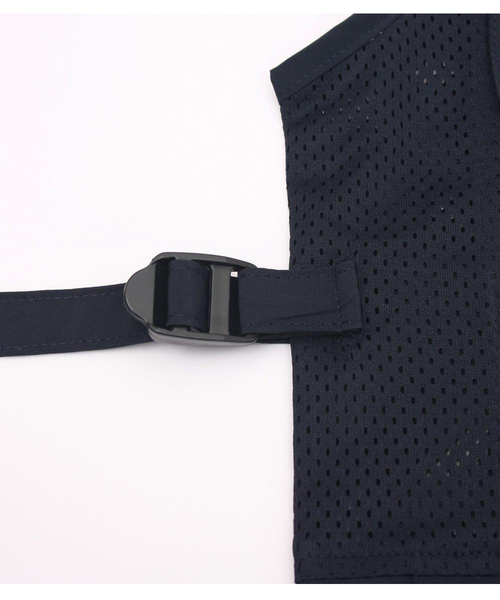 오투아이스 망사 얼음조끼 - 다크네이비/머플러세트형