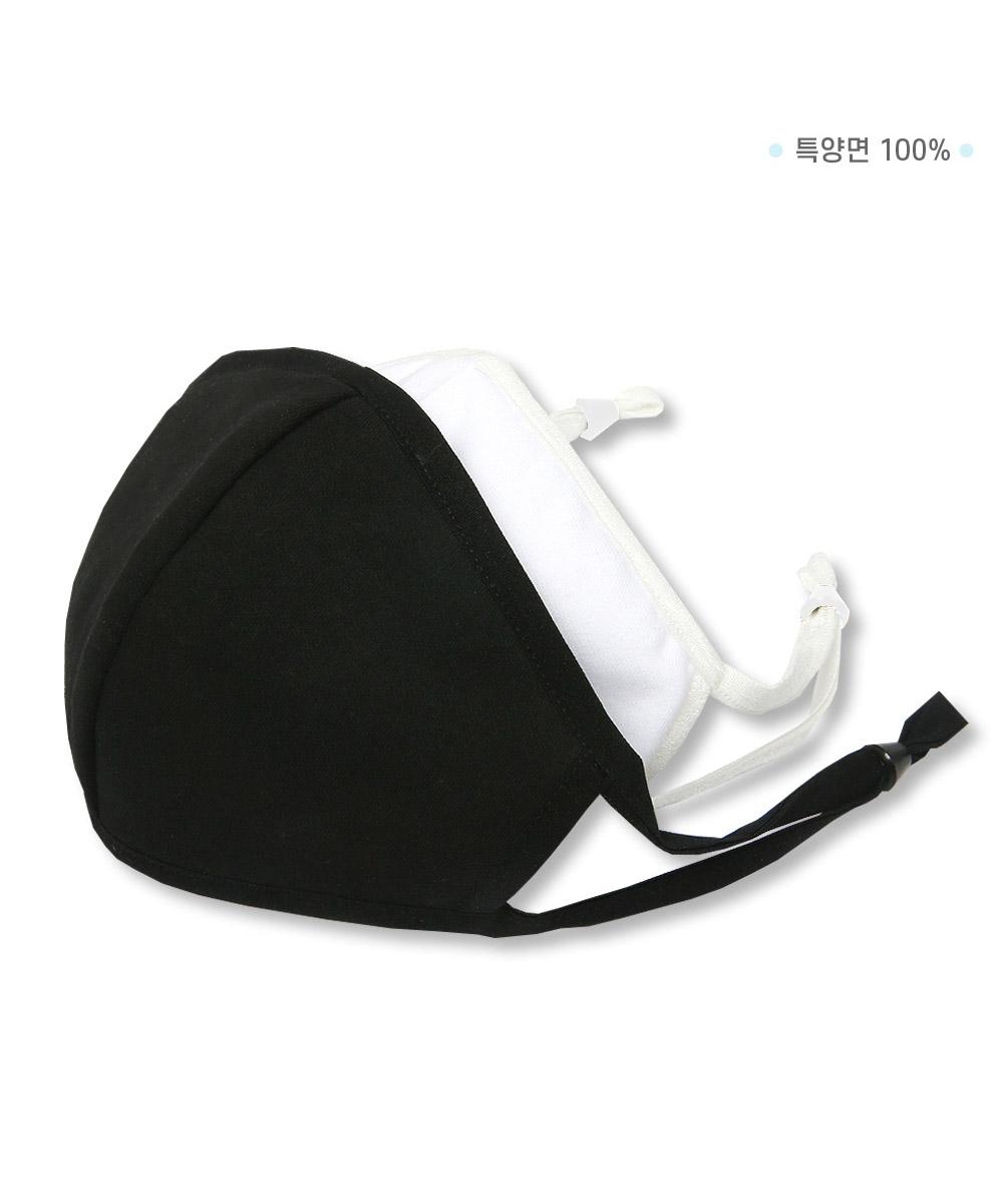 오투라이프 3D 입체 마스크 - 블랙 (필터 별매)