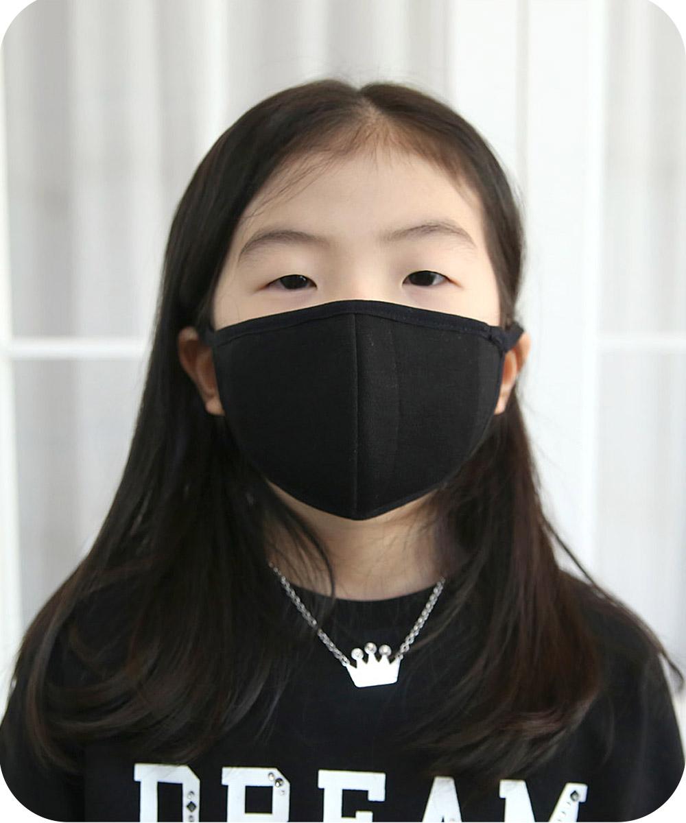 아동용 항균 에어메쉬 3D입체 필터교체형 마스크