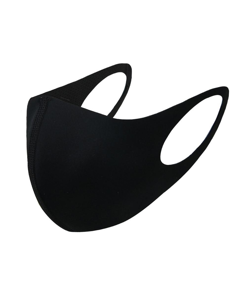 항균 크레오라 패션마스크 - 올블랙