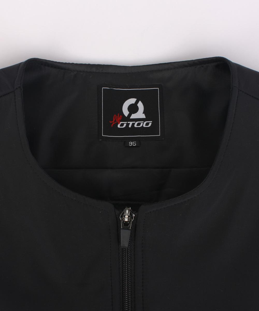 오투라이프 투웨이 핫팩겸용 발열조끼- 2Way Black -