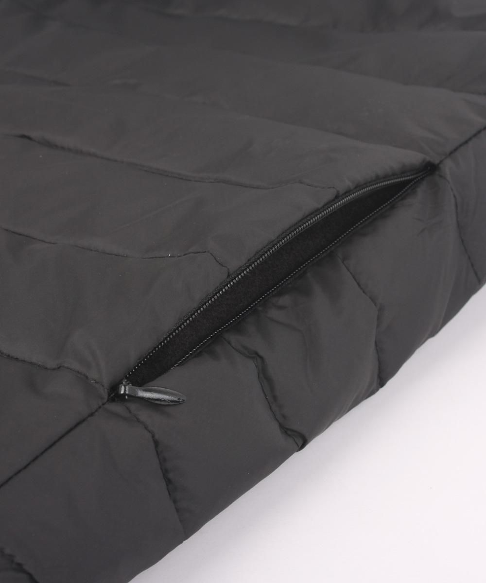 오투라이프 울트라 경량패딩 발열조끼- Ultra Black -